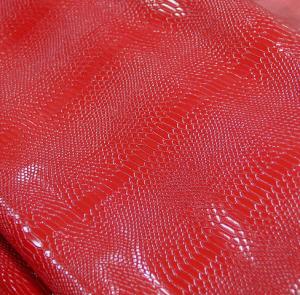 Змеиная кожа (красный)